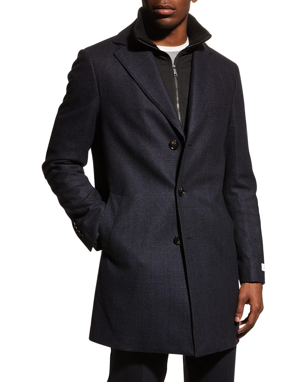 Men's Leclaire Overcoat w/ Removable Bib