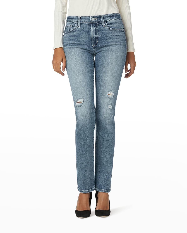 The Lara Ankle Straight-Leg Jeans