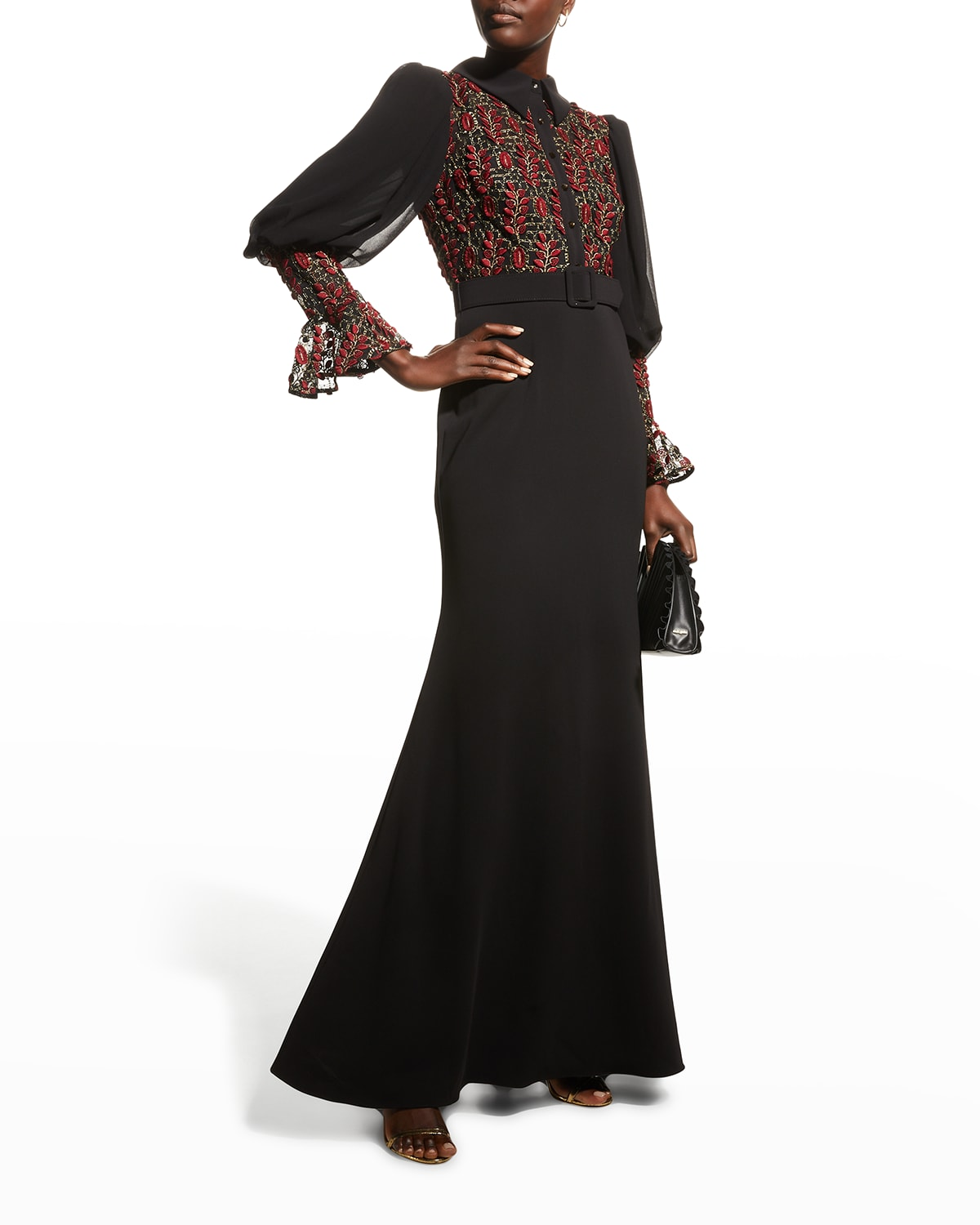 Victorian Combo Shirt Gown
