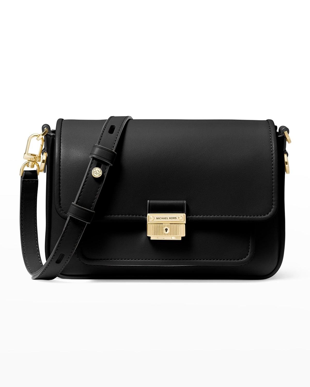 Bradshaw Leather Messenger Crossbody Bag