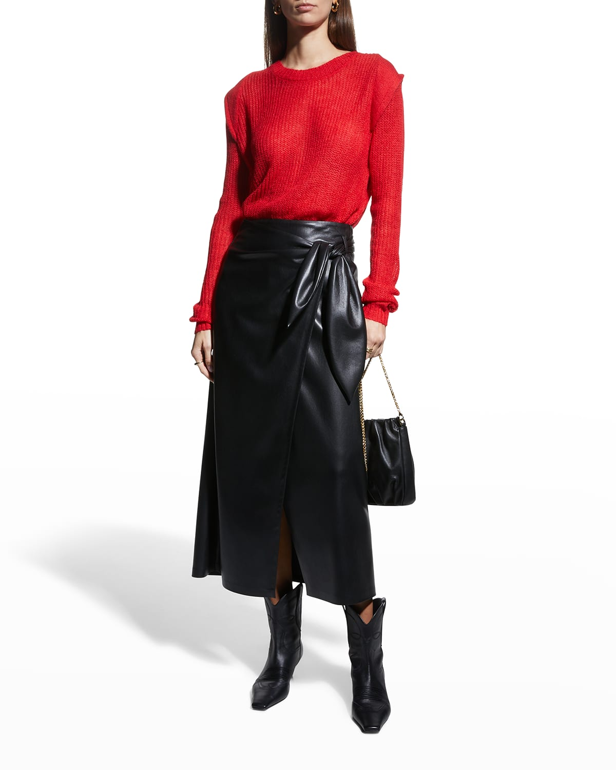 The Denise Sweater with Shoulder Detail