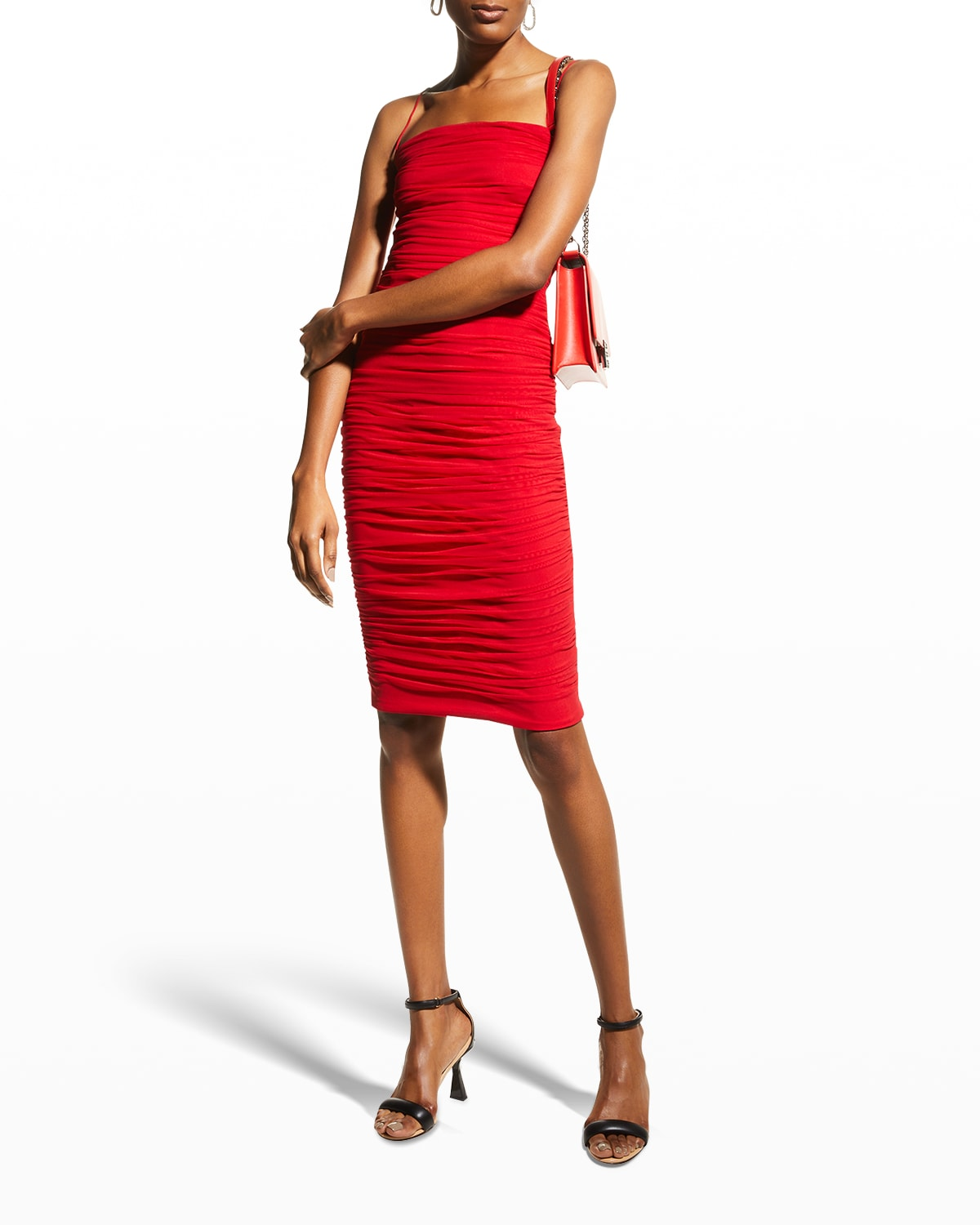 Dylan Ruched Bodycon Dress
