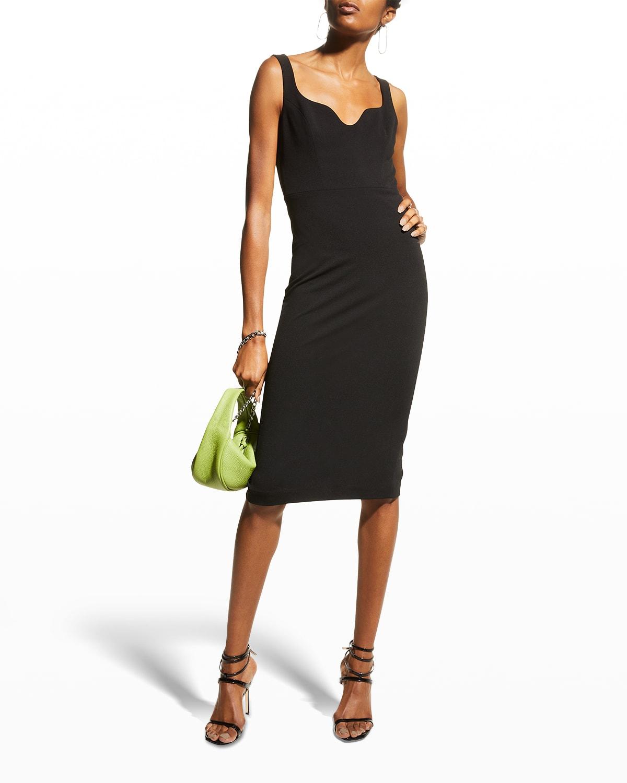 Sloane U-Neck Bodycon Dress
