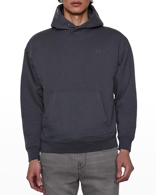 Men's Snap Pullover Hoodie