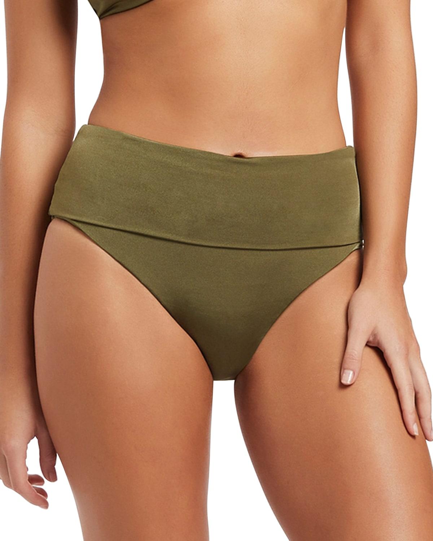 Soleil Foldover Bikini Bottoms