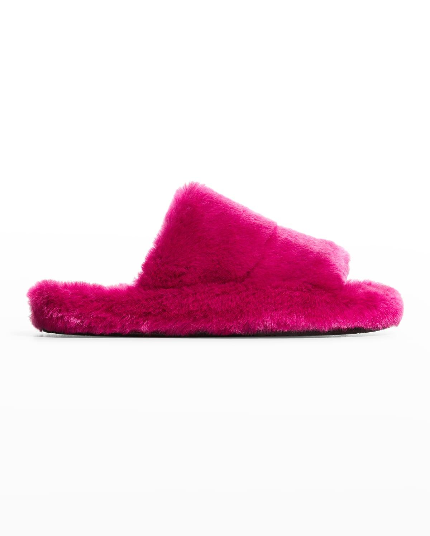 Men's Glove Furry Slippers