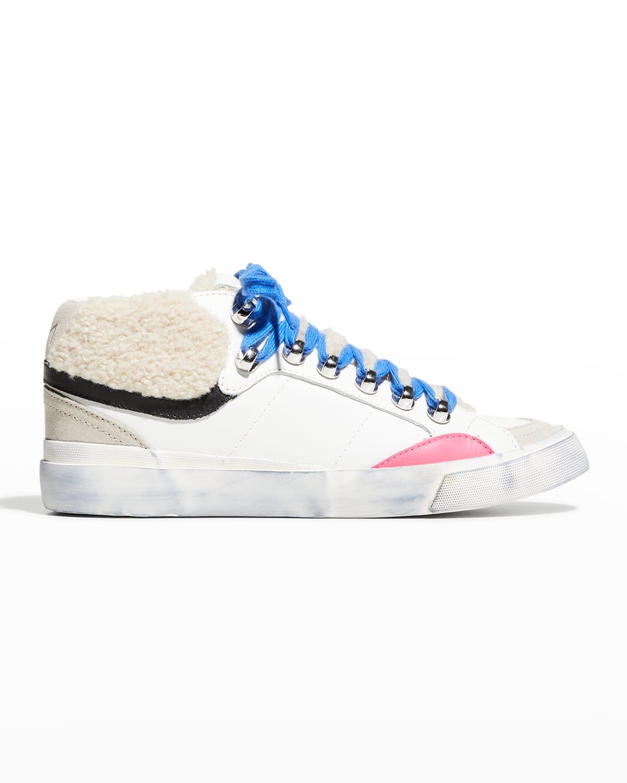 Merlin Faux Fur Mid-Top Sneakers