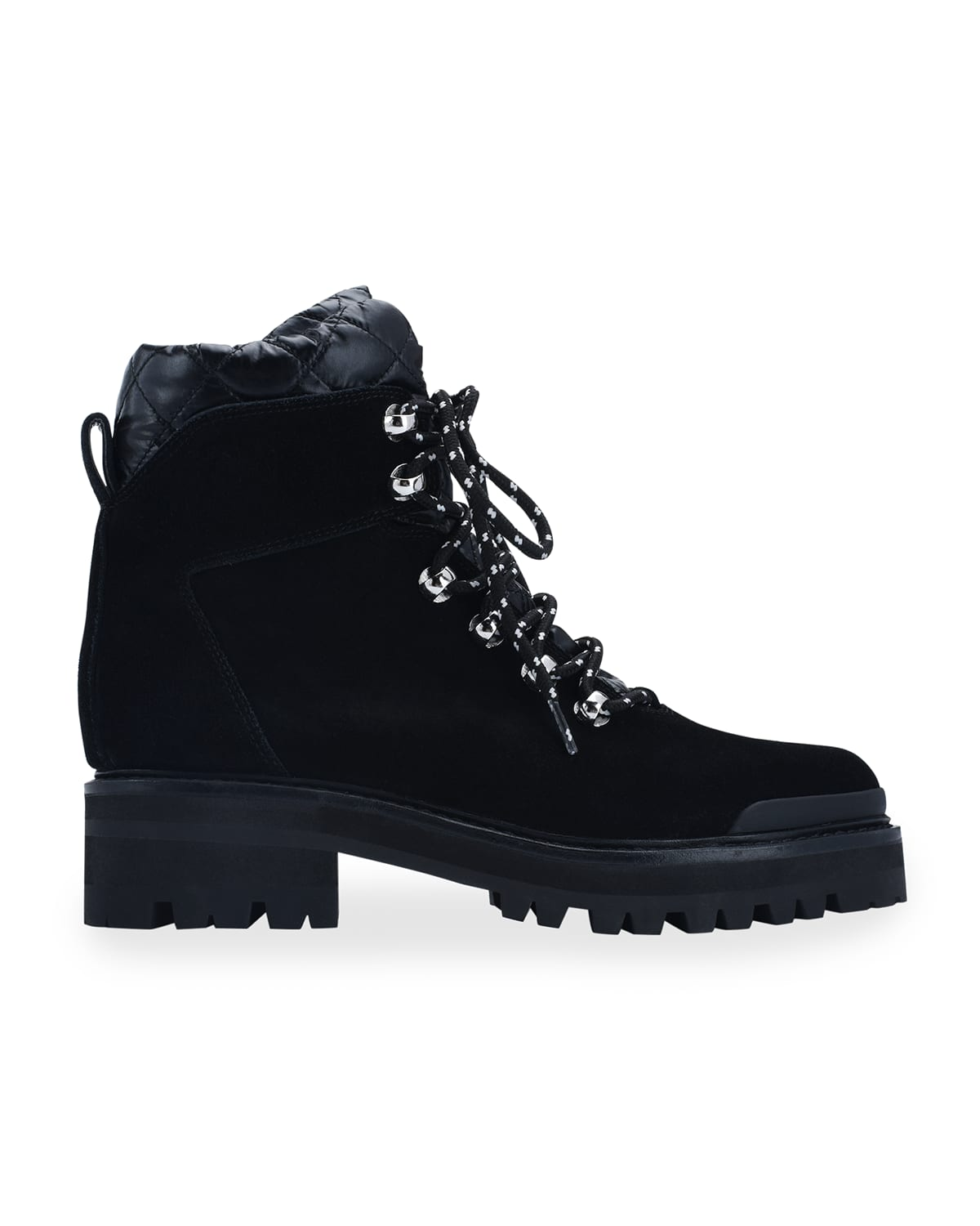 Innie Suede Lace-Up Hiker Booties