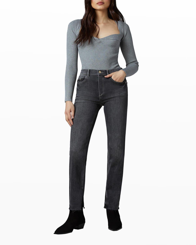 Patti Straight High-Rise Vintage Jeans