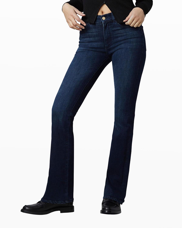 Bridget High-Rise Boot-Cut Jeans