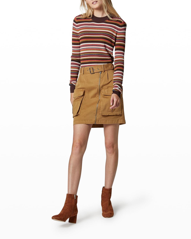 Reser Stripe Knit Top