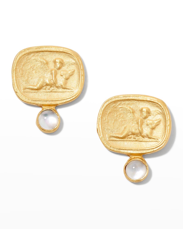Cherub Mother-of-Pearl Earrings