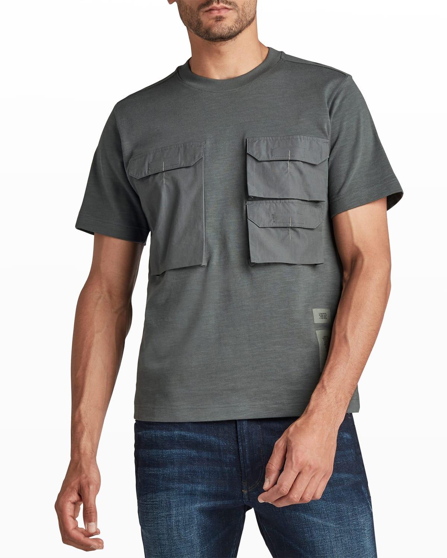 Men's 3-Pocket Cotton T-Shirt