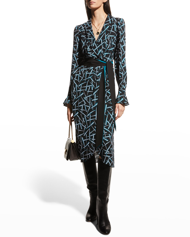 Drusilla Midi Wrap Dress