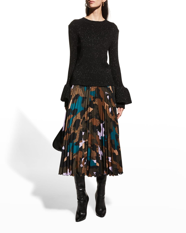 Kit Ribbed Wool-Blend Sweater