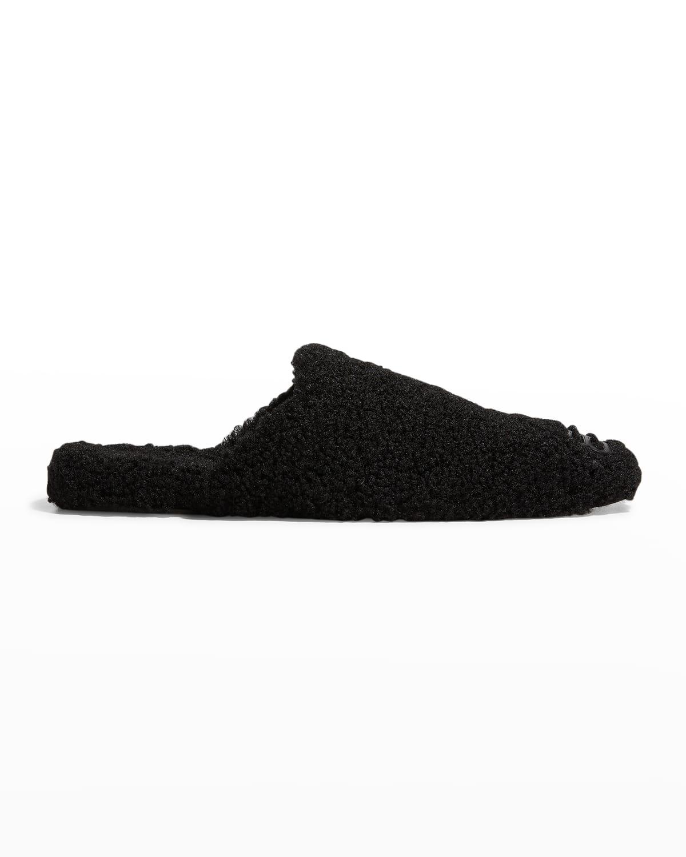 Men's BB Cosy Fleece Mule Slippers