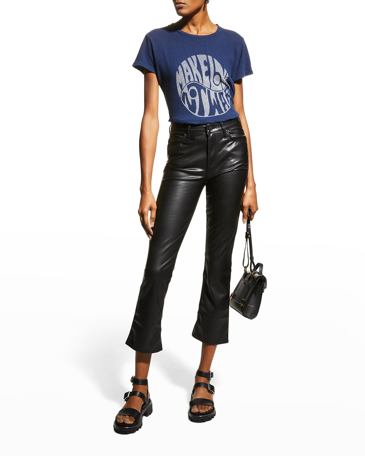 The Insider Ankle Faux-Leather Pants