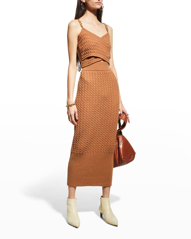Renata Midi Knit Tube Skirt