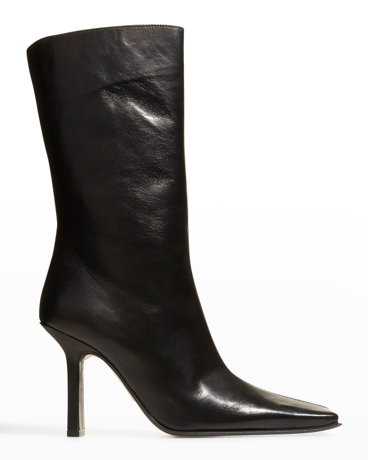 Noor Napa Leather Mid Boots
