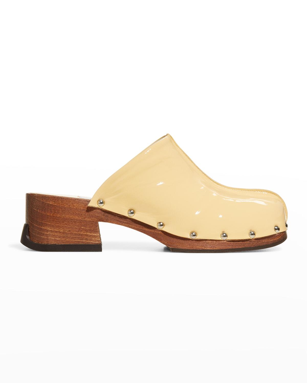 Allison Sunrise Patent Leather Mules