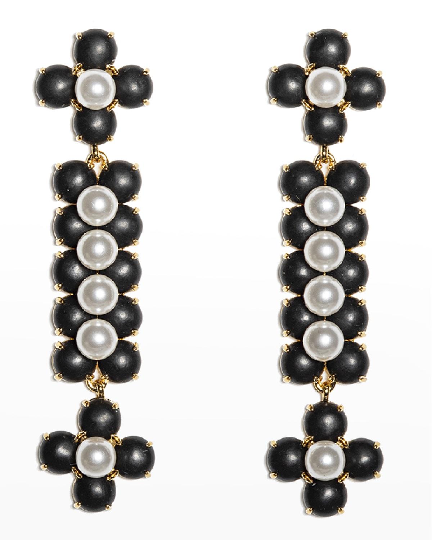Stone Cactus Earrings