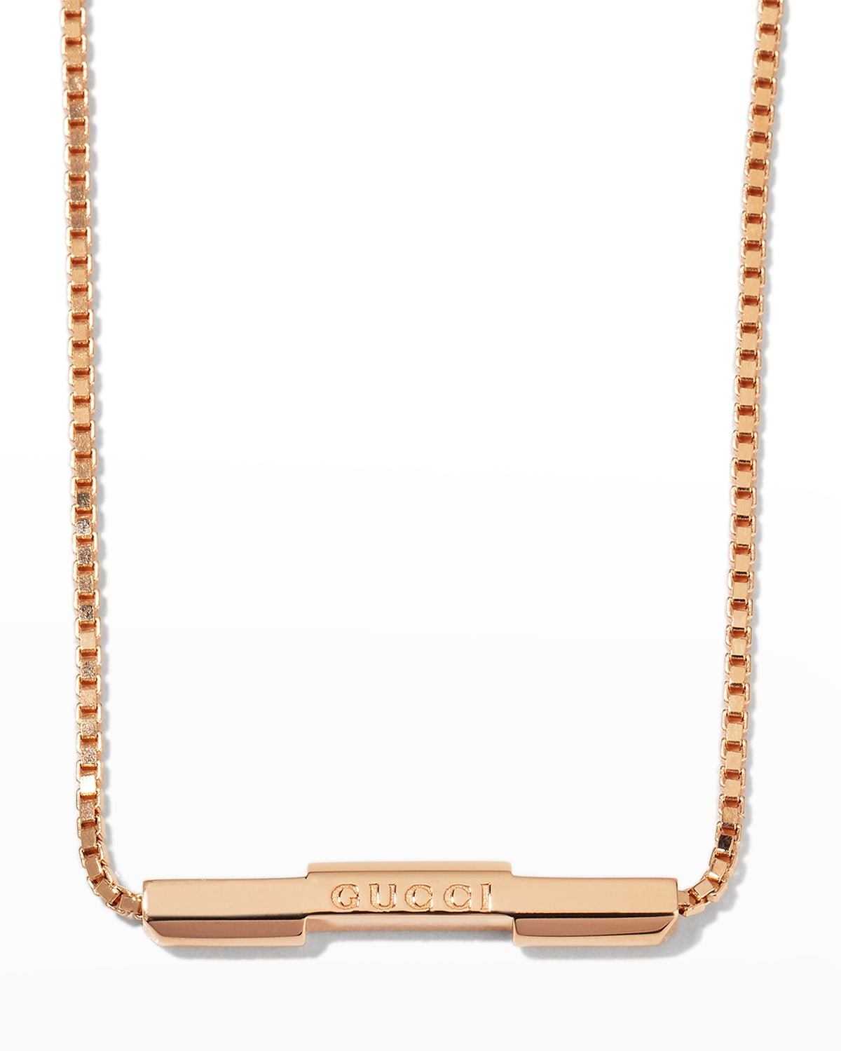 Link to Love Necklace in 18k Yellow Gold
