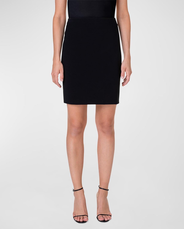 Short Stretch-Jersey Skirt