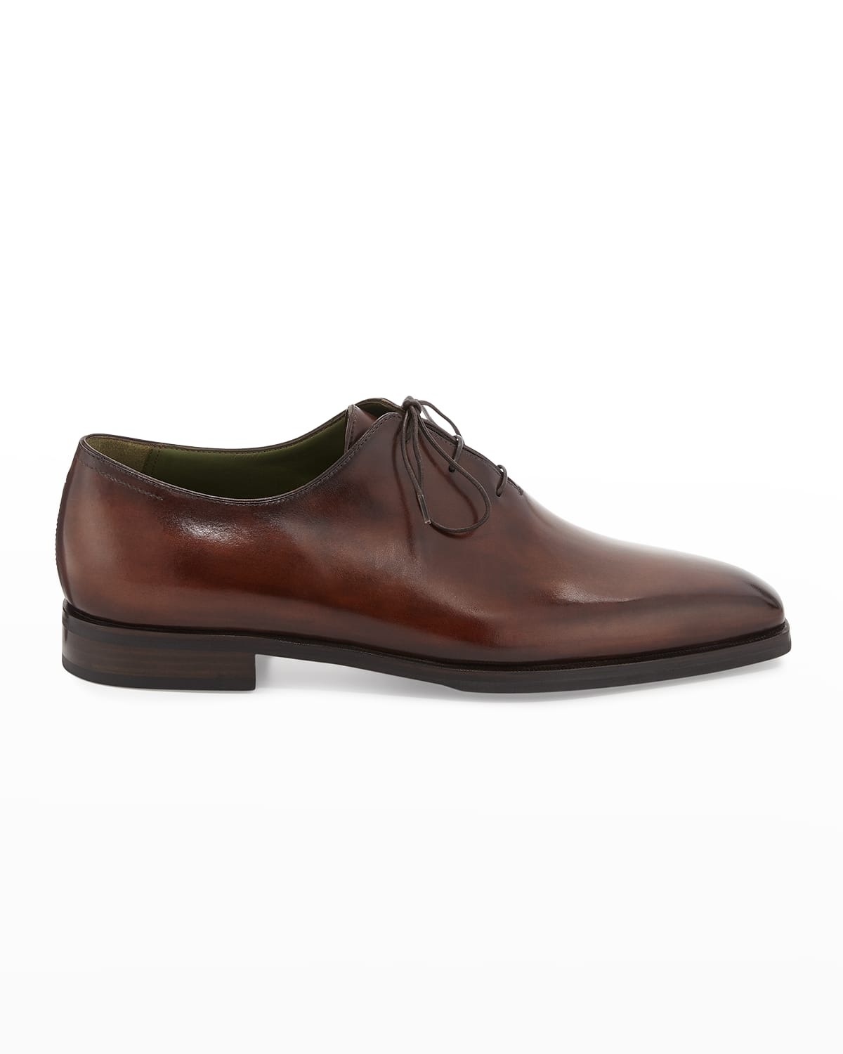 Alessandro Demesure Leather Oxfords with Leather Sole