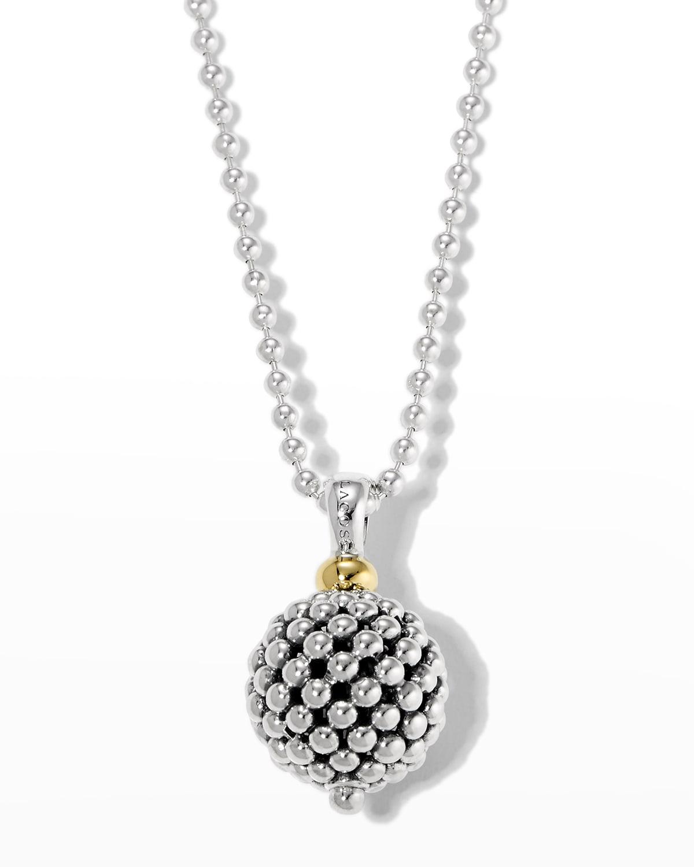 Caviar Forever Ball Pendant Necklace