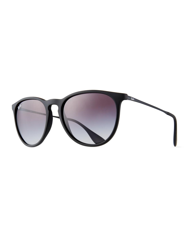 Gradient Keyhole Nose Bridge Sunglasses