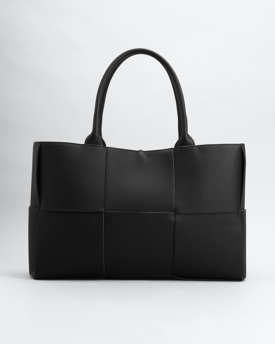 Arco Woven East-West Tote Bag | Neiman Marcus