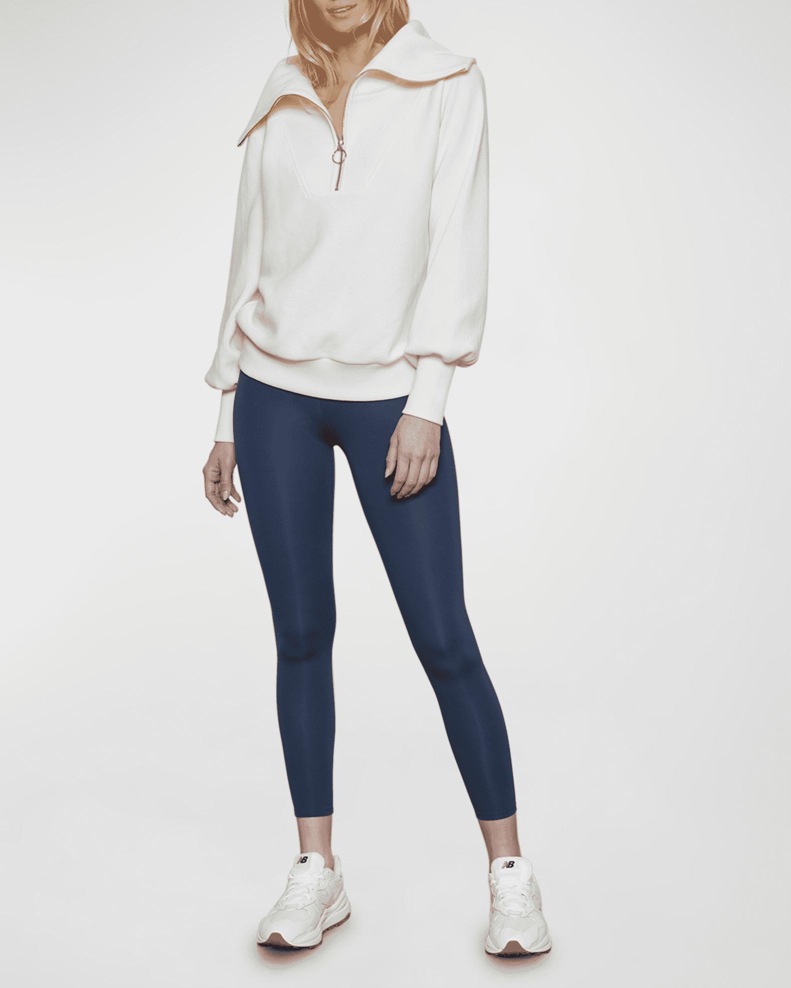 Varley Vine Oversized 1/2-Zip Pullover Sweatshirt | Neiman Marcus