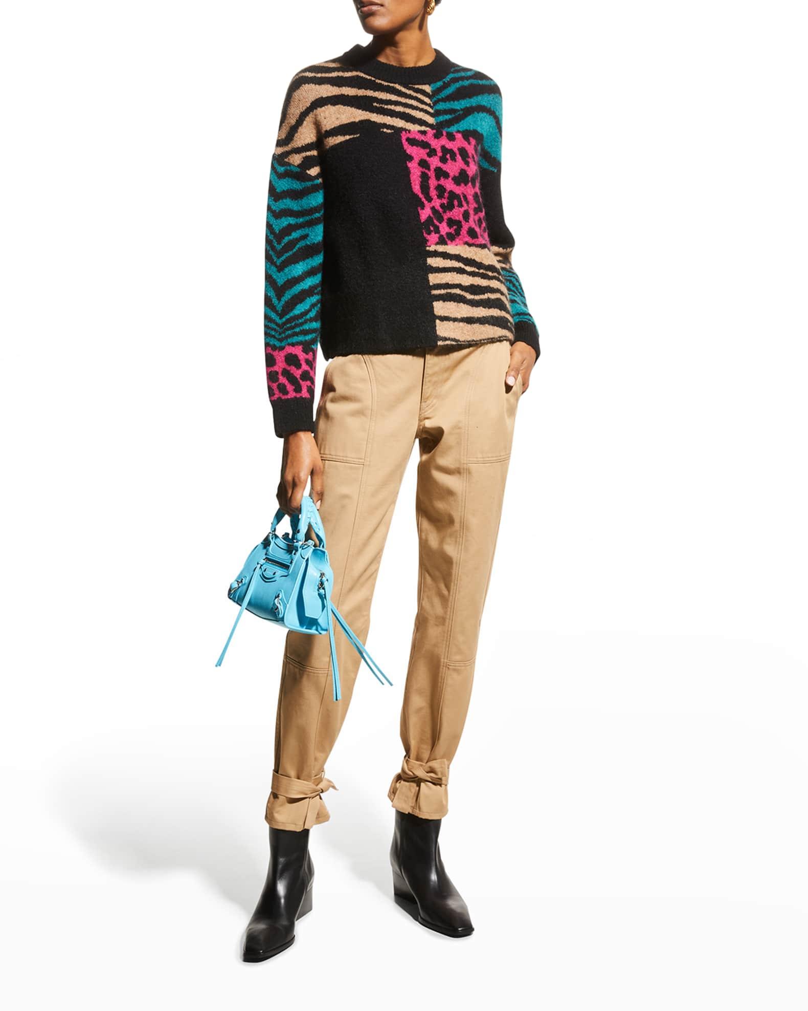 RAILS Kylie Animal-Print Sweater