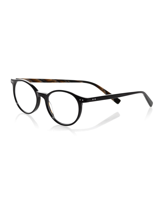 Case Closed Plaid Acetate Reading Glasses